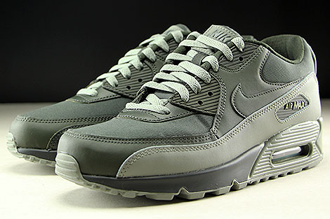 Nike Air Max 90 Essential Khaki Oliv Seitendetail
