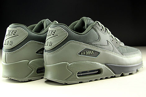 Nike Air Max 90 Essential Sequoia Dark Stucco Back view