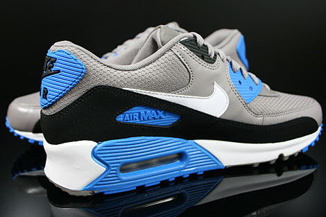 nike air max 90 blue white black
