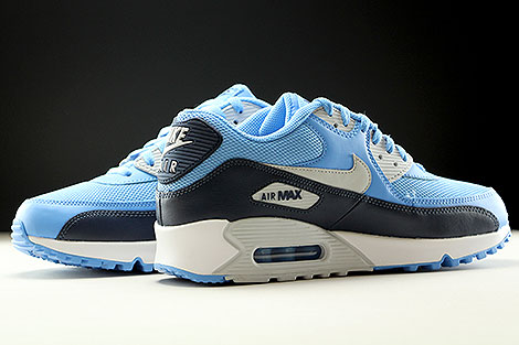 Nike Air Max 90 Essential University Blue Pure Platinum Obsidian White Inside