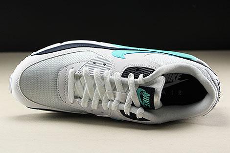 Nike Air Max 90 Essential White Aurora Green Obsidian Over view