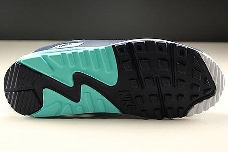 Nike Air Max 90 Essential White Aurora Green Obsidian Laufsohle