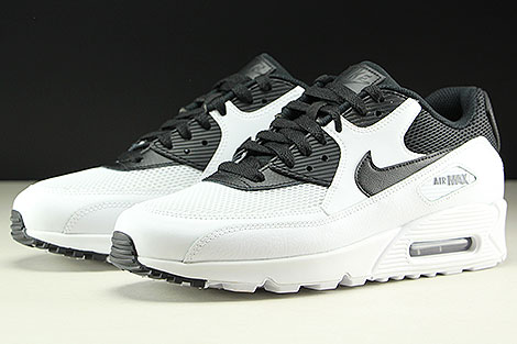 Nike Air Max 90 Essential White Black Sidedetails
