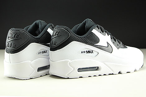 Nike Air Max 90 Essential White Black Back view
