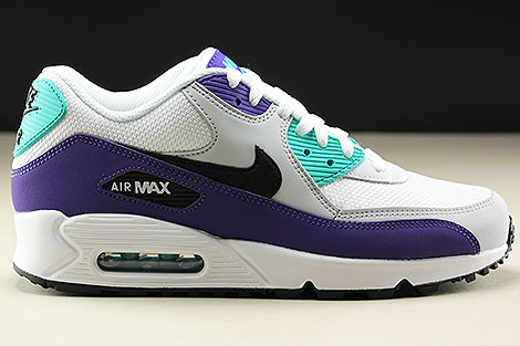Nike Air Max 90 Essential White Black Hyper Jade Right
