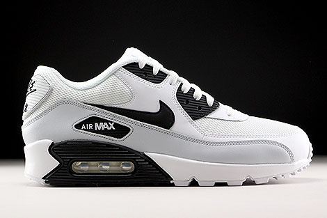 Nike Air Max 90 Essential White Black Pure Platinum Right