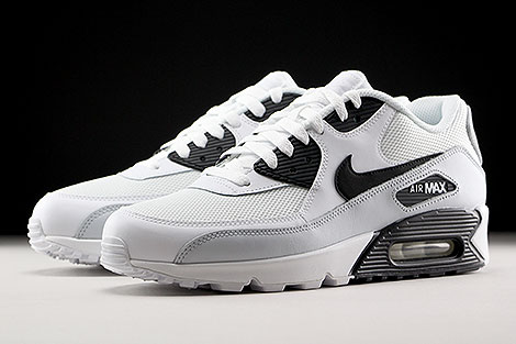 Nike Air Max 90 Essential White Black Pure Platinum Sidedetails
