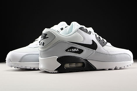 Nike Air Max 90 Essential White Black Pure Platinum Inside