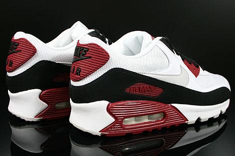 nike air max 90 essential red white