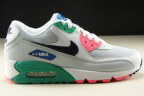 Nike Air Max 90 Essential White Obsidian Pure Platinum Blue Nebula