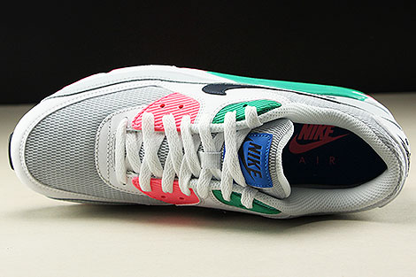 buy popular 932d8 0b249 ... Nike Air Max 90 Essential White Obsidian Pure Platinum Blue Nebula  Oberschuh ...
