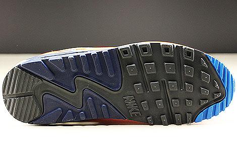 Nike Air Max 90 Essential White Photo Blue Total Orange Outsole