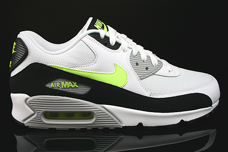 quality design e052a 084ee Nike Air Max 90 Essential White Volt Black Wolf Grey 537384-118 ...