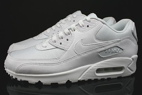Nike Air Max 90 Essential White White White White Profile
