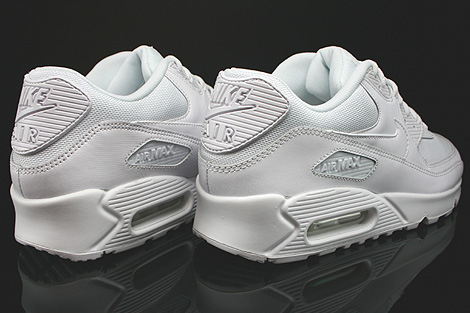 Nike Air Max 90 Essential White White White White Back view