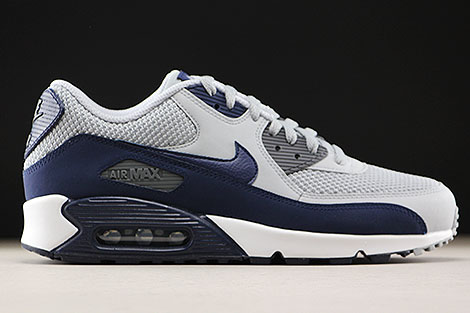 Nike Air Max 90 Essential Wolf Grey Binary Blue Right