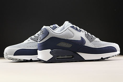 Nike Air Max 90 Essential Wolf Grey Binary Blue Inside