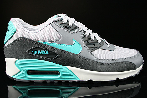 Nike Air Max 90 Essential Wolf Grey Hyper Jade Cool Grey