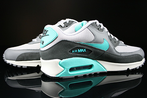 new concept d5c26 9be16 ... clearance nike air max 90 essential wolf grey hyper jade 46a84 89c9e