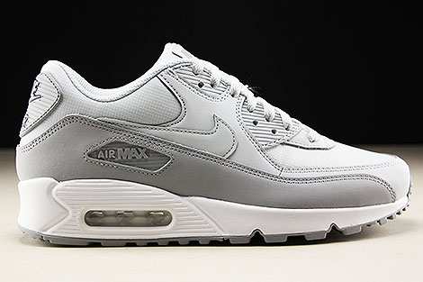 Nike Air Max 90 Essential Wolf Grey Pure Platinum White Right