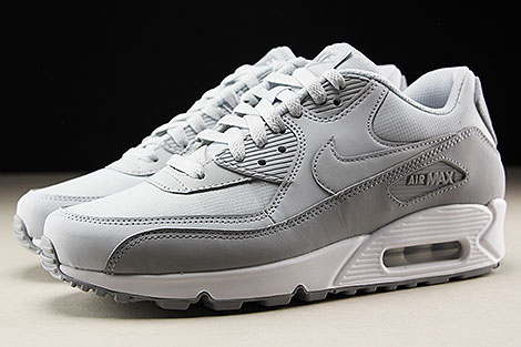 Nike Air Max 90 Essential Wolf Grey Pure Platinum White Profile