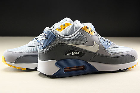 Nike Air Max 90 Essential Wolf Grey White Indigo Storm Inside