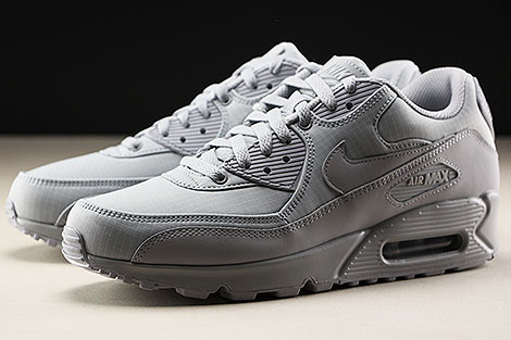 Nike Air Max 90 Essential Wolf Grey Wolf Grey Seitendetail