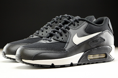 Nike Air Max 90 Flash GS Black Summit White Sidedetails