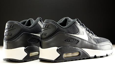 Nike Air Max 90 Flash GS Black Summit White Back view