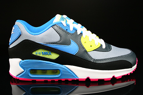 Nike Air Max 90 GS Magnet Grey Photo Blue Dark Magnet Grey
