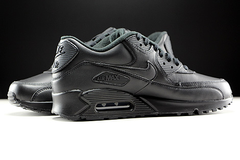 Nike Air Max 90 Leather Black Inside