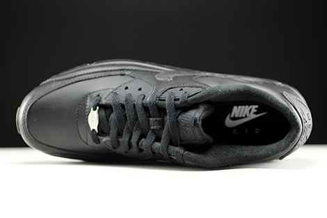 Nike Air Max 90 Leather Black Over view
