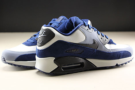 Nike Air Max 90 Leather Blue Void Black Ashen Slate Inside