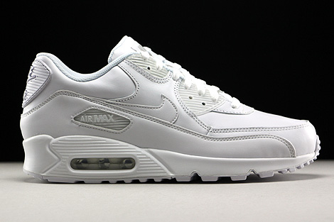 Nike Air Max 90 Leather White Right