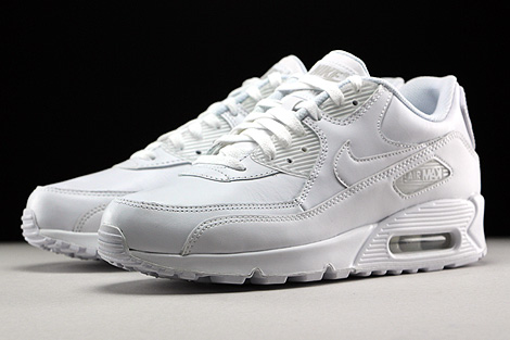 Nike Air Max 90 Leather White Sidedetails