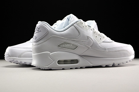 Nike Air Max 90 Leather White Inside