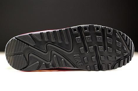 Nike Air Max 90 Mesh GS Schwarz Pink Weiss Blau Laufsohle