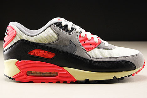 Nike Air Max 90 OG Sail Cool Grey Medium Grey Infrared