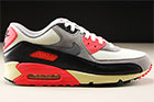 Nike Air Max 90 OG Beige Grau Anthrazit Schwarz Rot