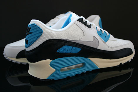 Nike Air Max 90 OG Sail Neutral Grey Laser Blue Black Inside