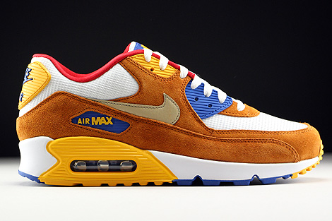 Nike Air Max 90 PremiumEM Blau Orange Braun
