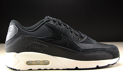 Nike Air Max 90 Ultra 2.0 LTR Black Summit White Right