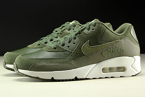 Nike Air Max 90 Ultra 2.0 LTR Cargo Khaki Medium Olive Profile