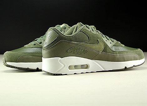 Nike Air Max 90 Ultra 2.0 LTR Cargo Khaki Medium Olive Inside