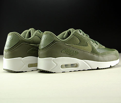 Nike Air Max 90 Ultra 2.0 LTR Cargo Khaki Medium Olive Back view