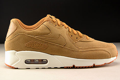 Nike Air Max 90 Ultra 2.0 LTR Flax Sail Gum Medium Brown Right