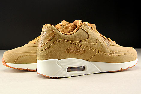Nike Air Max 90 Ultra 2.0 LTR Flax Sail Gum Medium Brown Inside