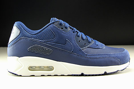 Nike Air Max 90 Ultra 2.0 LTR Midnight Navy White Right