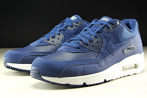 Nike Air Max 90 Ultra 2.0 LTR Midnight Navy White Sidedetails