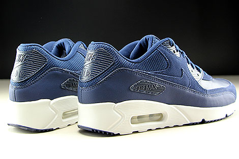 Nike Air Max 90 Ultra 2.0 LTR Midnight Navy White Back view